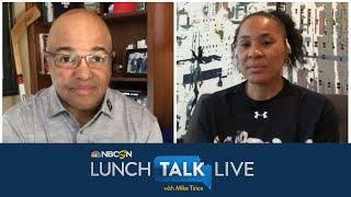 South Carolina's Dawn Staley on importance of hard race conversations (FULL INTERVIEW) | NBC Sports