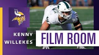 Film Room: Can Former Walk-On Kenny Willekes Continue His Rise With the Minnesota Vikings?