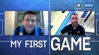 INTER x LENOVO | #MYFIRSTGAME | A VIDEOCALL with CHRISTIAN ERIKSEN!  [SUB ITA + ENG]