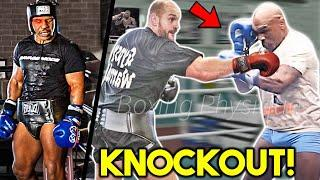 *K.O* Mike Tyson vs. Tyson Fury(1) FULL ВRUТАL Sparring Session- Training for 2021 BOXING EXHIBITION