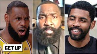 The Nets are coming to take the Lakers' throne - Kendrick Perkins | Get Up