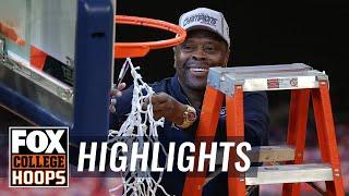 Georgetown crushes Creighton winning Big East Tournament | FOX COLLEGE HOOPS HIGHLIGHTS