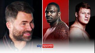 BREAKING! Eddie Hearn reveals WHERE Dillian Whyte will face Alexander Povetkin on March 27