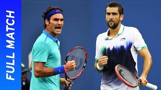 Marin Cilic vs Roger Federer in the best match of his career! | US Open 2014 Semifinal