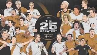 The 25 Greatest Players in MLS History