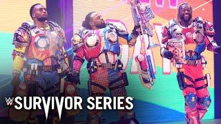 The New Day rock custom Gears of War armor: Survivor Series 2020 (WWE Network Exclusive)