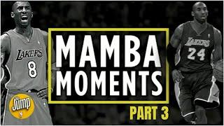 Kobe Bryant's Top 24 Mamba Moments [Part 3] | The Jump