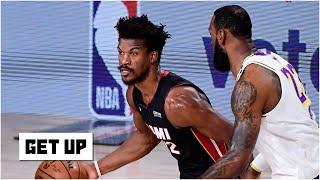 Breaking down Jimmy Butler's 40-point triple-double vs. the Lakers in Game 3 of the Finals | Get Up
