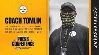 Steelers Virtual Camp Press Conference (Sept. 3): Coach Mike Tomlin | 2020 Training Camp