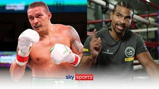 David Haye reveals the ONE thing he thinks Oleksandr Usyk lacks to be an elite heavyweight