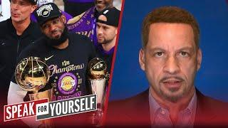 LeBron winning his 4th title keeps him in GOAT debate with MJ — Broussard | NBA | SPEAK FOR YOURSELF
