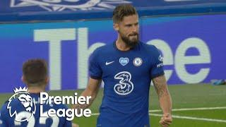 Olivier Giroud breaks the deadlock for Chelsea against Norwich City | Premier League | NBC Sports