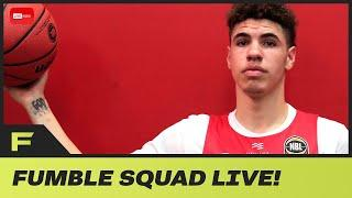 Lamelo Ball Famous Like A Kardashian But Actually Has Talent & Perfect For Knicks!   LIVE