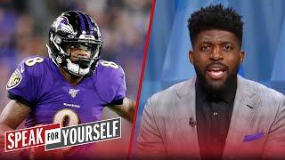 Lamar Jackson ranked No. 6 QB: Too high, too low, or just right? | NFL | SPEAK FOR YOURSELF