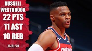 Russell Westbrook records another triple-double in Wizards' loss to Bulls [HIGHLIGHTS] | NBA on ESPN