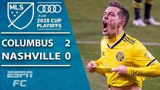 Columbus Crew win in extra time as clock strikes midnight on Nashville SC | ESPN FC MLS Highlights