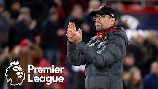 Jurgen Klopp reacts to Liverpool's Premier League win | NBC Sports