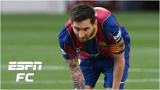 Lionel Messi with 'a disappearance act' for Barcelona in last 20 minutes of El Clasico | ESPN FC