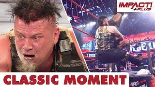 Sami Callihan Piledrives Rich Swann Off The Top Rope Onto LEGO! | Classic IMPACT Wrestling Moments