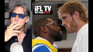 'SOMEONE COULD GET KILLED' - GARETH A DAVIES DOESN'T HOLD BACK ON MAYWEATHER JR v 'DRUNK' LOGAN PAUL
