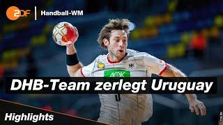 Kastening on fire! | Deutschland - Uruguay 43:14 – Highlights | Handball-WM 2021 – ZDF