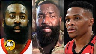I'M SCARED - Perk is worried for James Harden & Russell Westbrook's future on the Rockets   The Jump