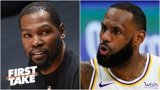 Stephen A. and Max debate Nets vs. Lakers: Which team is the best in the NBA? | First Take