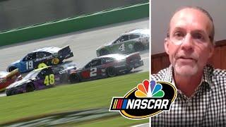 NASCAR America at Home: Tensions building after Cup race at Kentucky | Motorsports on NBC