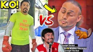 PACQUIAO vs THURMAN 9 MONTHS AFTER THEY FIGHT (TRAINING vs COMPLAINING)