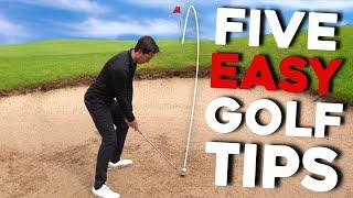 Simple golf tips from AMAZING golfer - MUST TRY!