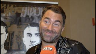 'JUST DON'T SPANK ME TOO HARD' - EDDIE HEARN ON JOHN FURY COMMENTS & SAYS ARUM HAS 'LOST THE PLOT'