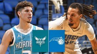 LaMelo Ball and Cole Anthony duel in Hornets vs. Magic | 2020 NBA Preseason Highlights