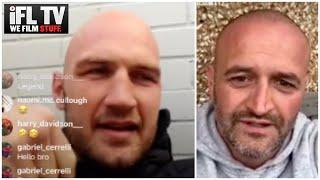 'I'LL LEARN FROM DAVE HES A BIG LUMP OF A LAD' - STEVEN WARD ON DAVE ALLEN TEAMING UP w/ JAMIE MOORE