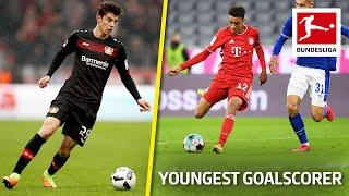 Top 10 Youngest Goalscorers Ever • Updated | Havertz, Werner, Pulisic & More