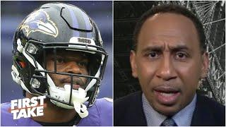 Stephen A. reacts to Lamar Jackson's struggles after loss to the Steelers | First Take