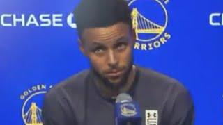 Steph Curry Has A Hilarious Reaction When A Reporter Called Him By His Real Name: 'Wardell'