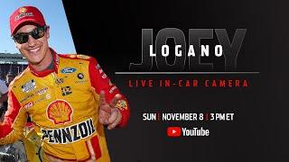 Joey Logano's live Championship 4 in-car camera presented by Coca-Cola | NASCAR Playoffs