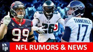 NFL Rumors: Trade Deadline Buyers & Sellers, Miles Sanders, Zach Ertz Injuries & Ryan Tannehill MVP?