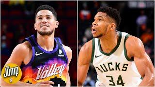Did Devin Booker throw shade at Giannis with his postgame comments?   The Jump