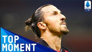 Zlatan Scores Milan's First Goal Of The Season | Milan 2-0 Bologna | Top Moment | Serie A TIM