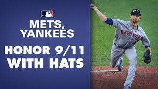 Mets, Yankees wear NYPD, FDNY hats on 9/11/2020