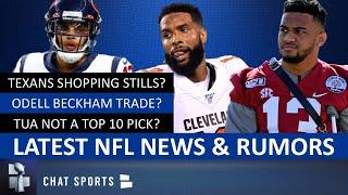 OBJ Trade Rumors, Tua Drafted In Top 10? Joe Mixon, Kenny Stills, 2020 NFL Draft I NFL News & Rumors