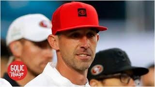 Kyle Shanahan signs a 6-year contract with the 49ers | Golic and Wingo