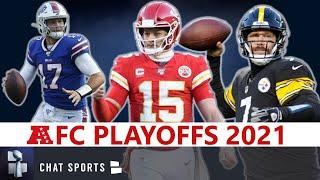 NFL Playoff Picture, Schedule, Bracket, Matchups, Dates And Times For 2021 AFC Playoffs
