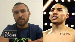 Vasiliy Lomachenko scouts Teofimo Lopez before Oct. 17 fight | Max on Boxing