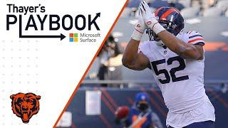 Defense schemes pass rush opportunities vs Texans   Thayer's Playbook   Chicago Bears