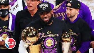 LeBron James wins NBA Finals MVP, describes what winning with Lakers means | 2020 NBA Finals