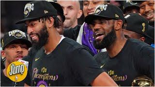 Reacting to the Lakers' celebrations after 2020 NBA Finals win | The Jump