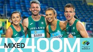 Ireland book Olympic qualifier in mixed 4x400m relay   World Athletics Relays