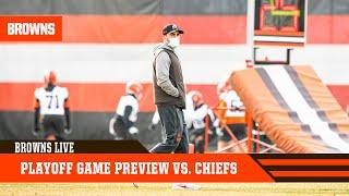 Playoff Game Preview vs. Chiefs in Divisional round of playoffs